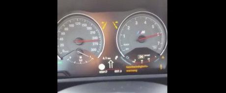 Blana pe Autobahn: Un BMW M2 goneste cu viteza maxima pe autostrada germana