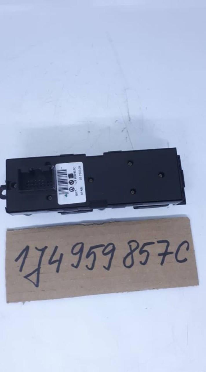 Bloc comenzi geamuri electrice Skoda Octavia 1/ Fabia /Superb / 1J4959857C 2001-2005