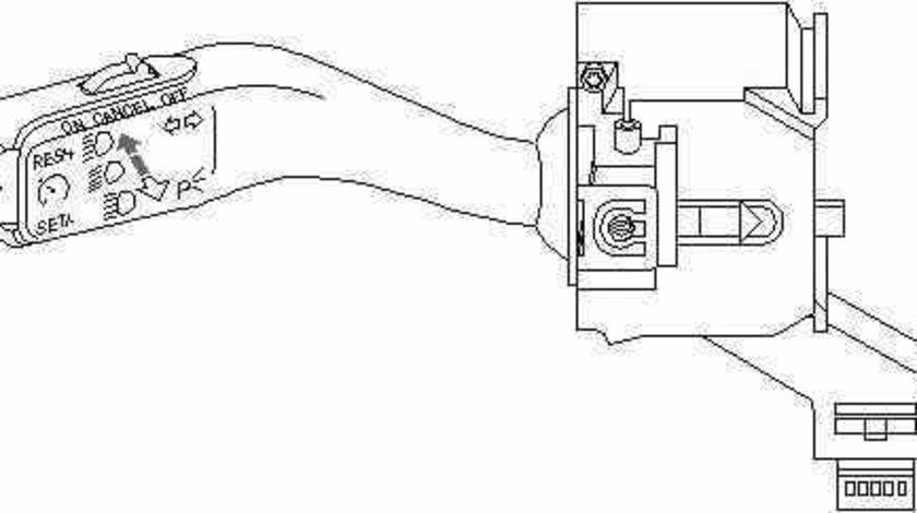 Bloc lumini de control VW TIGUAN 5N TOPRAN 112 242