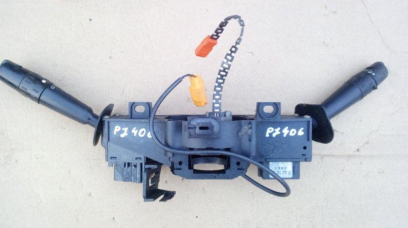 Bloc lumini + Maneta semnalizare/stergatoare Peugeot 406