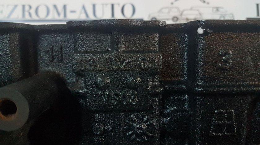 Bloc motor complet 03l021cj seat alhambra 2.0 tdi cffb 140 cai