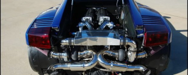 Blue Bull: Gallardo Twin Turbo by Underground Racing