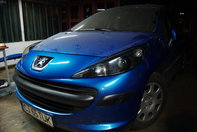 Blue Lion: Peugeot 207 by Tuki