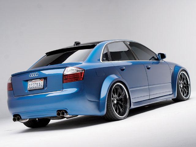 Blue Maniac: Audi A4 - Blue Maniac: Audi A4