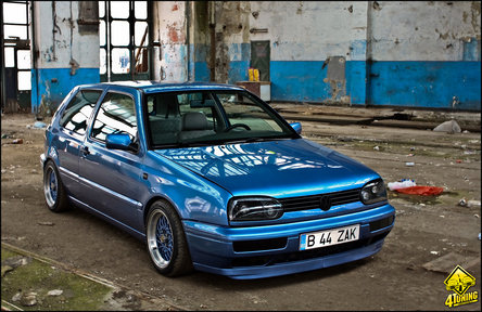 blue skies bring tuning vw golf mk3 by zak