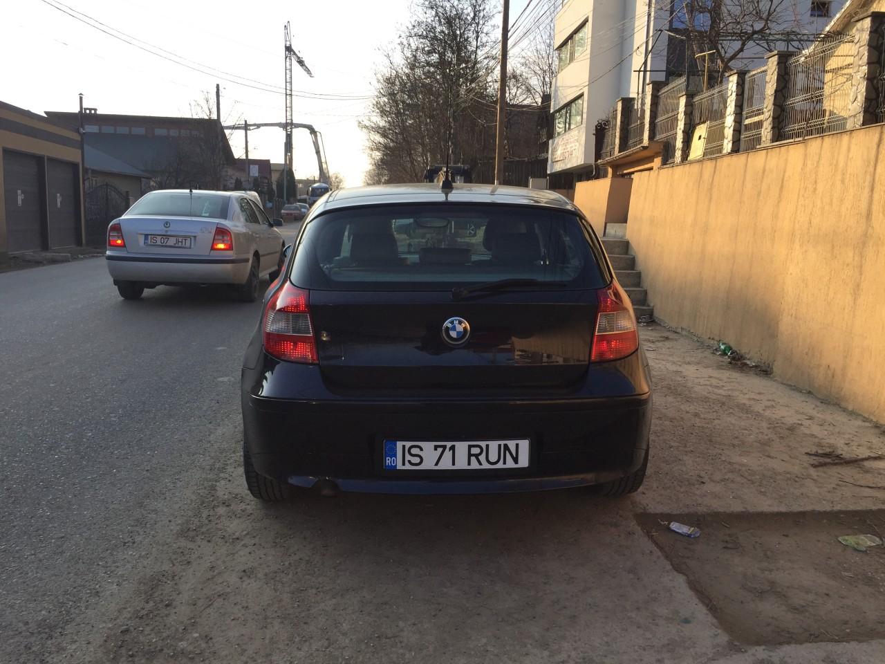 BMW 120 INMATRICULATA RO, 11. 2018 2006