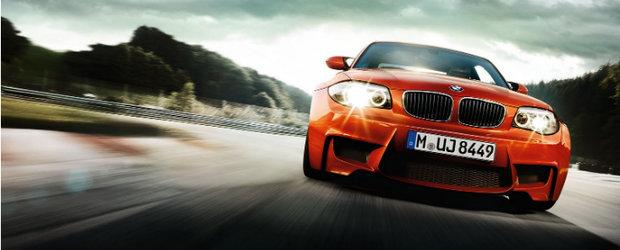 BMW 1M este mai rapid ca fratele mai mare, M3, pe circuitul Hockenheim