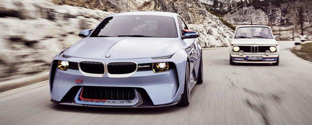 """BMW 2002 turbo, omagiat """"ca la carte"""" la Villa d'Este"""