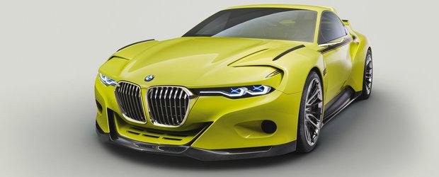 BMW 3.0 CSL Hommage, un concept care ne arata trecutul in viitor