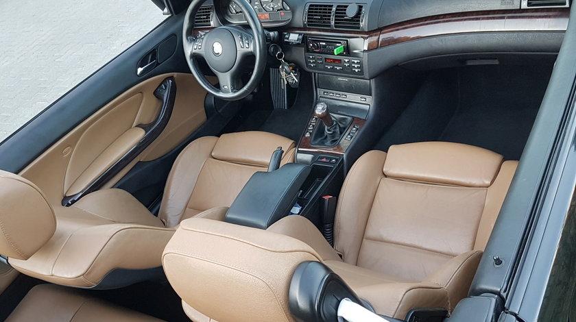 BMW 318 318i cabrio M///pachet piele maro scaune sport,jante 18 toli,gpl,Klima 2005