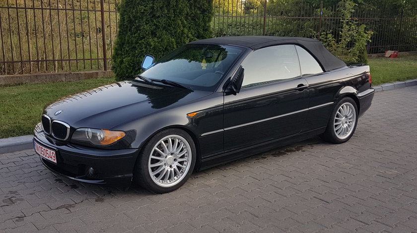 BMW 318 i cabrio facelift navi klimatronic interior piele full electric 2004