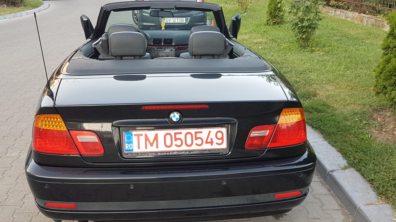 BMW 318 i cabrio facelift navi klimatronic interior piele full electric 2004