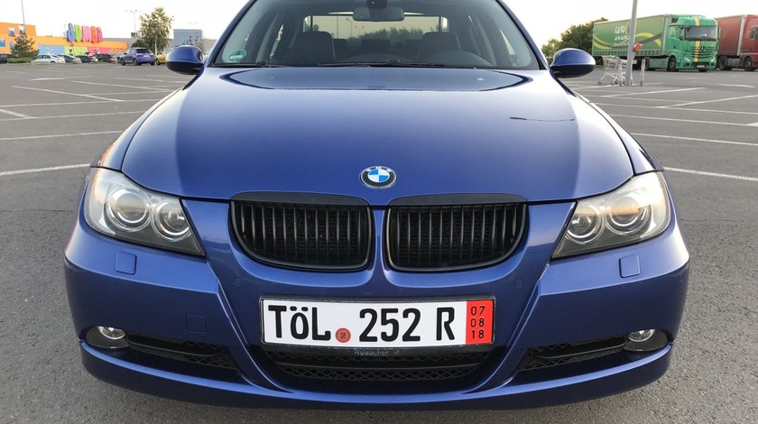 BMW 320 BMW 320d 163Cp Keyless Go/ Xenon / Navigatie Mare/ Scune SPORT  Piele / Bluetooth / Senzori parcare fata-spate / Scaune incalzite / etc.. RECENT ADUSA DIN GERMANIA!!! 2007