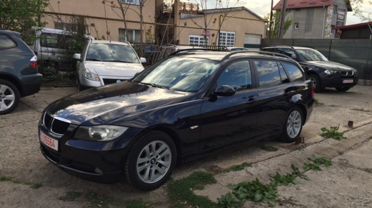 BMW 320 Inmatr. 10. 2010 / piele / dublu Climatronic 2010