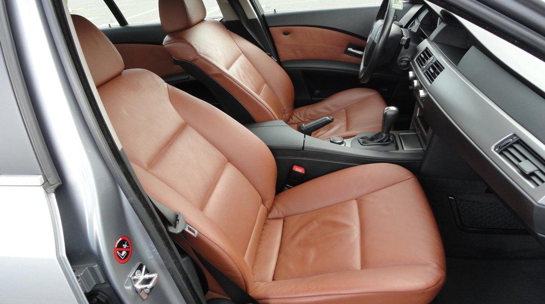 BMW 520 BMW 520d 163Cp / Automata / 180.000km / Navigatie / Scaune electrice Piele / Pilot / Klimatronic / Senzori parcare fata+spate/ etc.. RECENT ADUSA DIN GERMANIA!!! 2007