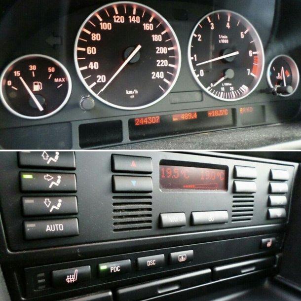 BMW 525 2.5i M54 2001
