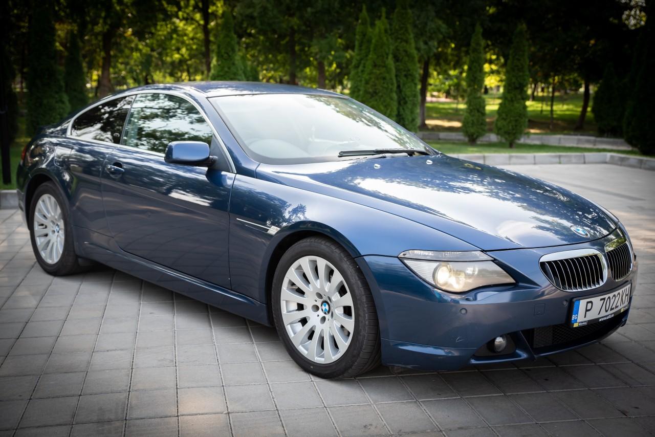 BMW 645 4.5/ 350cp 2004