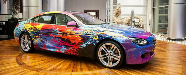 BMW 650i Gran Coupe Art Car - Intre arta si automobil