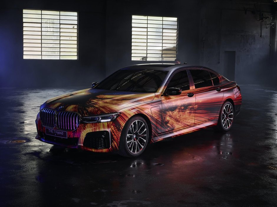 BMW 745Le Art Car