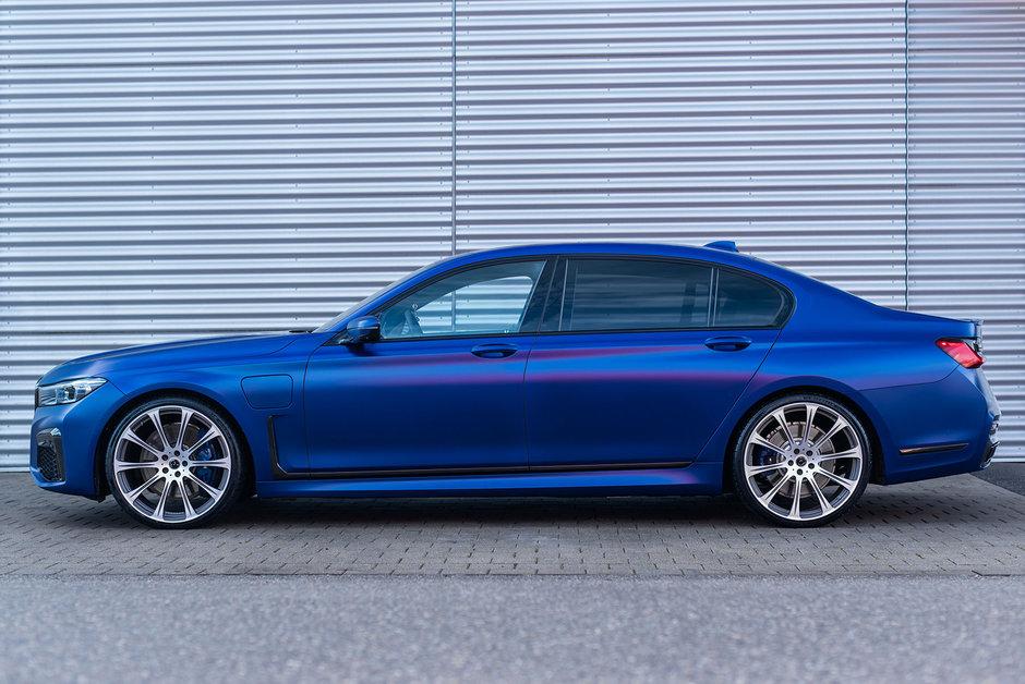 BMW 745Le xDrive de la dAHLer competition line