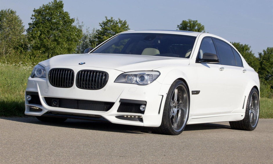 BMW 760Li by Lumma Design & Shaston - Agentul Secret