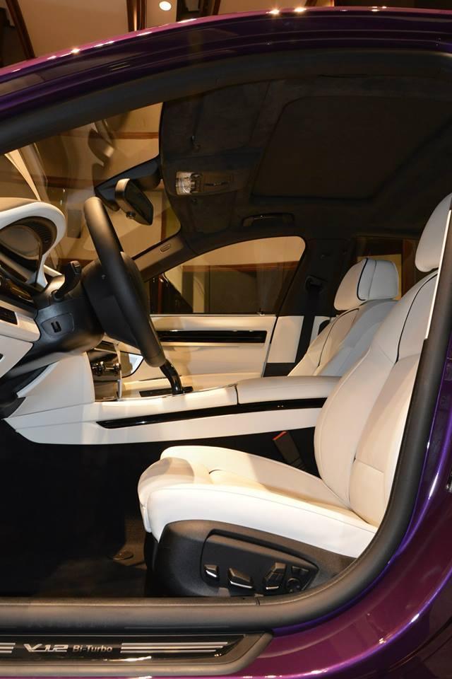 BMW 760Li in Twilight Purple - BMW 760Li in Twilight Purple
