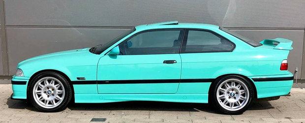 BMW a construit in total numai trei exemplare, iar una dintre acele masini este acum de vanzare. POZE REALE
