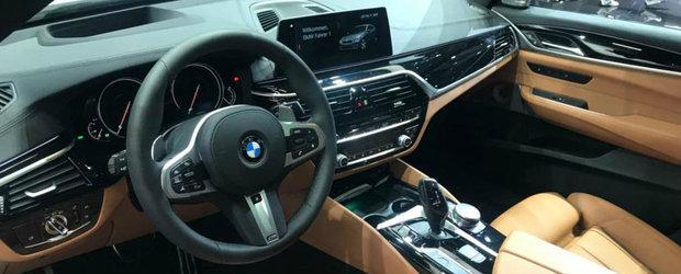 BMW a lansat la Frankfurt cel mai ieftin Seria 6. POZE REALE cu automobilul bavarez ca sa vezi cum arata pe viu