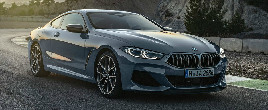 BMW a lansat noul Seria 8 si in Romania. Singura motorizare disponibila este un diesel de 3.0 litri