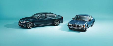 BMW a lansat o editie aniversara a navei sale amiral. Va fi construita in numai 200 de exemplare