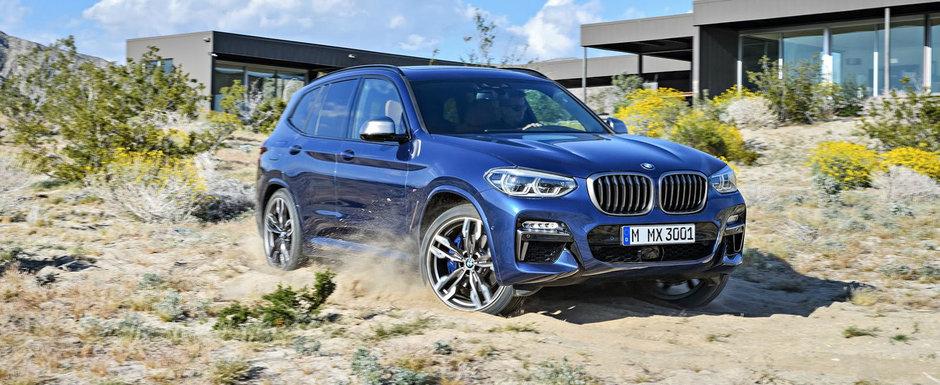 BMW a lansat oficial noua generatie X3. SUV-ul vine cu un design schimbat, interior remodelat si o versiune M