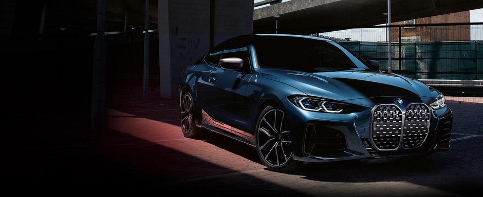 BMW a publicat acum primele fotografii oficiale. Cum arata noul Seria 4 Coupe fara numarul de inmatriculare fata