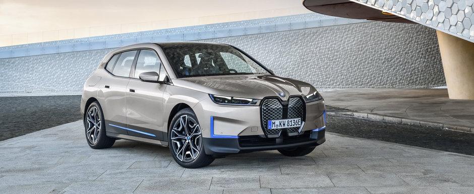 BMW a publicat acum primele imagini si detalii oficiale. Acesta este noul si controversatul iX!