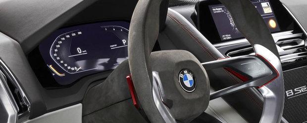 BMW a publicat astazi primele imagini oficiale. Cum vor arata in viitor masinile bavareze la interior