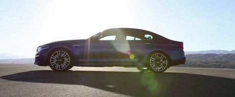 BMW a publicat mai multe filme cu noul M5 pentru ca TU: 1) sa vezi cum arata masina de 600 CP; 2) sa auzi cum suna motorul V8.