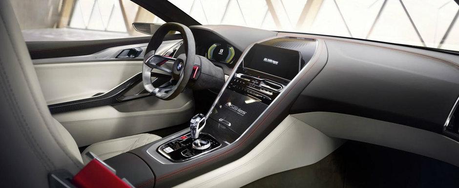 BMW a publicat toate imaginile noului Seria 8. Uite cum arata, in detaliu, masina bavareza