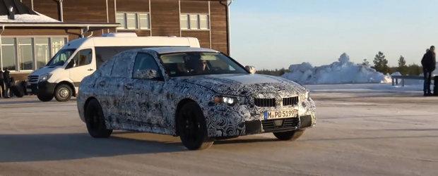 BMW a scos in teste viitorul Seria 3, cu tot cu noul motor de 1.5 litri
