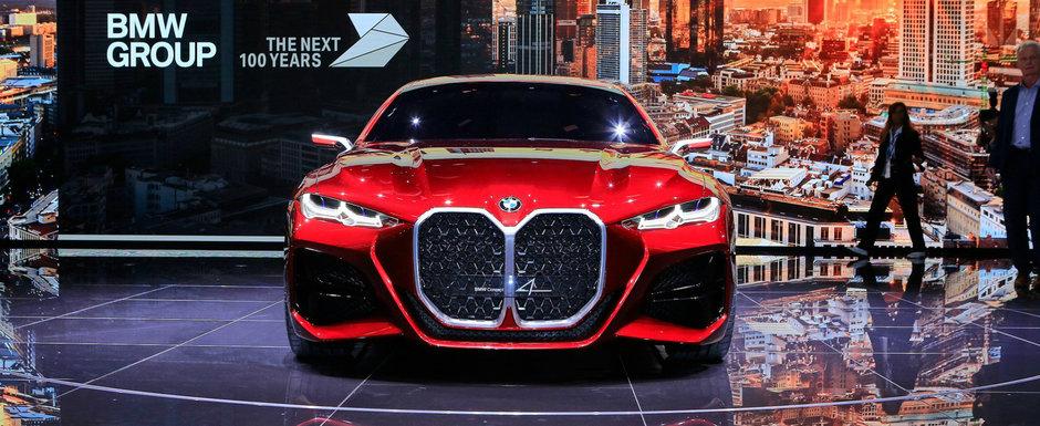 BMW a starnit hohote de ras la Frankfurt. Cum arata noua masina a bavarezilor