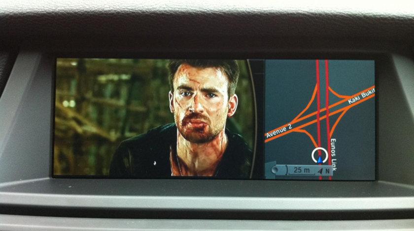 BMW activare video in motion ( VIM vezi filme DVD in miscare in mers )