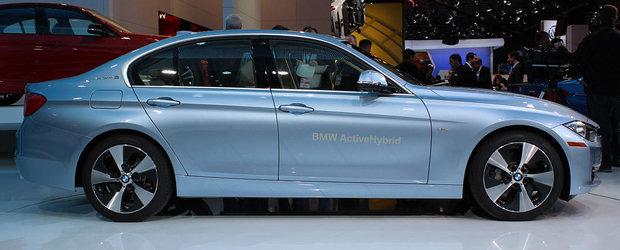 BMW ActiveHybrid 3 foloseste navigatia pentru a stabili care este momentul oportun de incarcare a bateriilor
