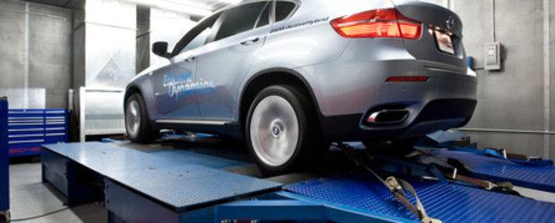 BMW ActiveHybrid X6 ia cu asalt dyno-ul