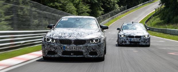 BMW anunta: 430 CP si peste 500 Nm pentru noile M3 Sedan si M4 Coupe!
