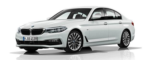 BMW anunta cel mai economic Seria 5 din istorie: 3.9 litri/100 de kilometri