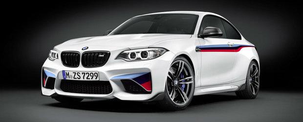BMW anunta o sumedenie de accesorii sport pentru noul M2 Coupe