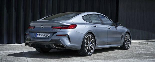 BMW anunta preturile noului Seria 8 Gran Coupe. Cat costa rivalul lui Mercedes CLS si Audi A7