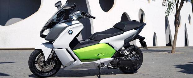 BMW anunta prima linie de scutere electrice