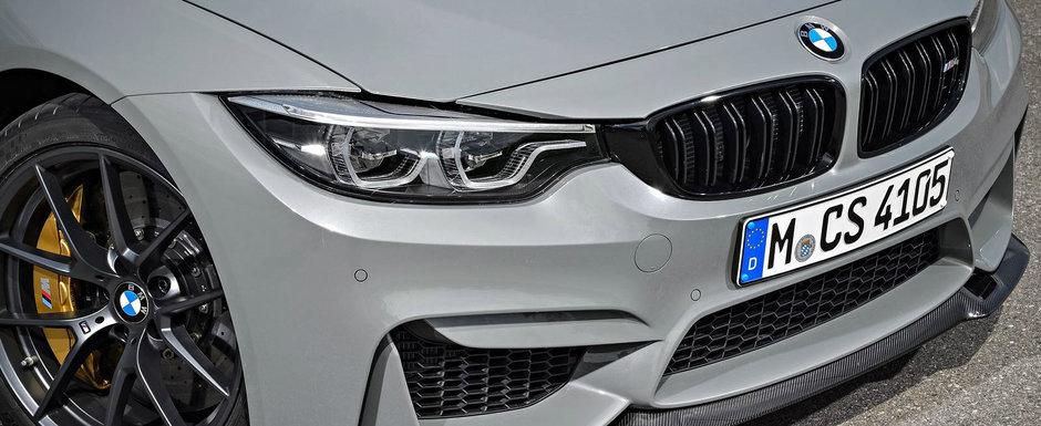 BMW ar putea lansa anul viitor cel mai puternic M3 din istoria companiei. Uite ce spun zvonurile