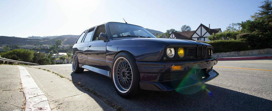 BMW ca si al lui nu mai avea nimeni, insa acum il vinde. Cu cat se da acest Ursulet special