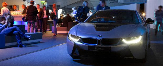 BMW castiga lupta cu Audi in domeniul farurilor cu tehnologie laser