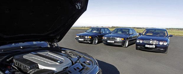 BMW celebreaza 25 de ani de la debutul primului sau V12